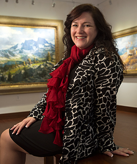 Curator Has Ambitious Goals for Galleries